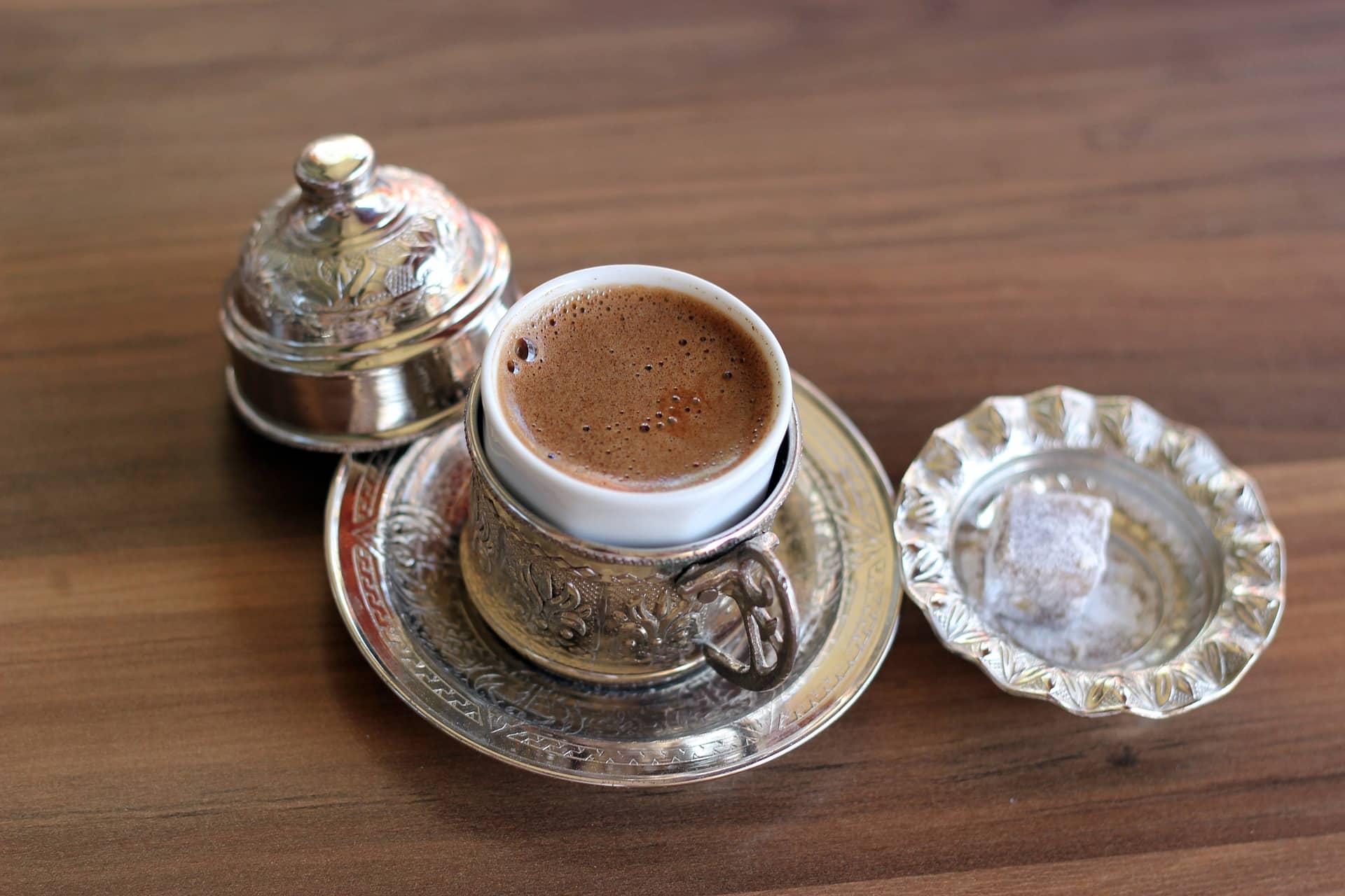 café turco taza