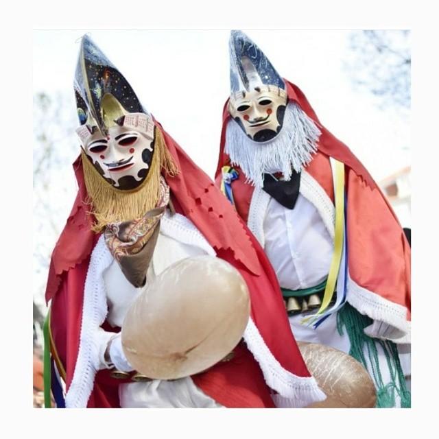 Pantalla del carnaval de Xinzo de Limia