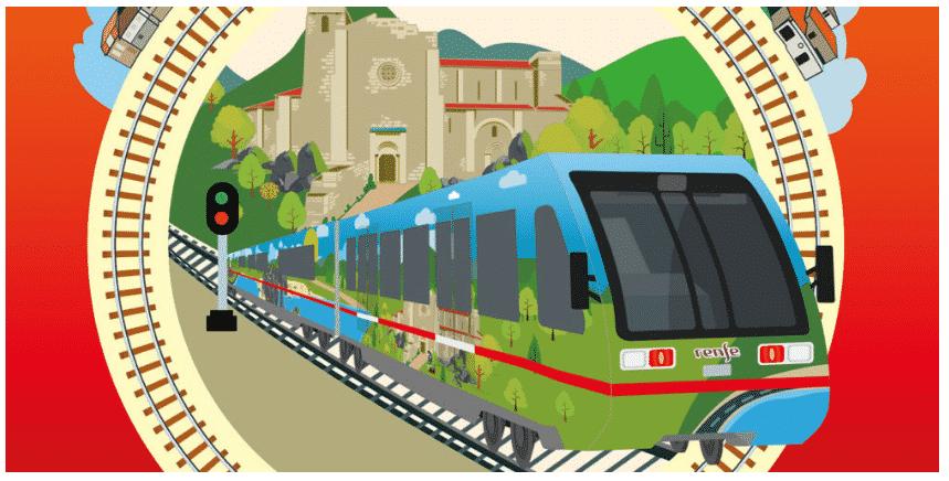 Logo de los trenes turisticos de Galicia