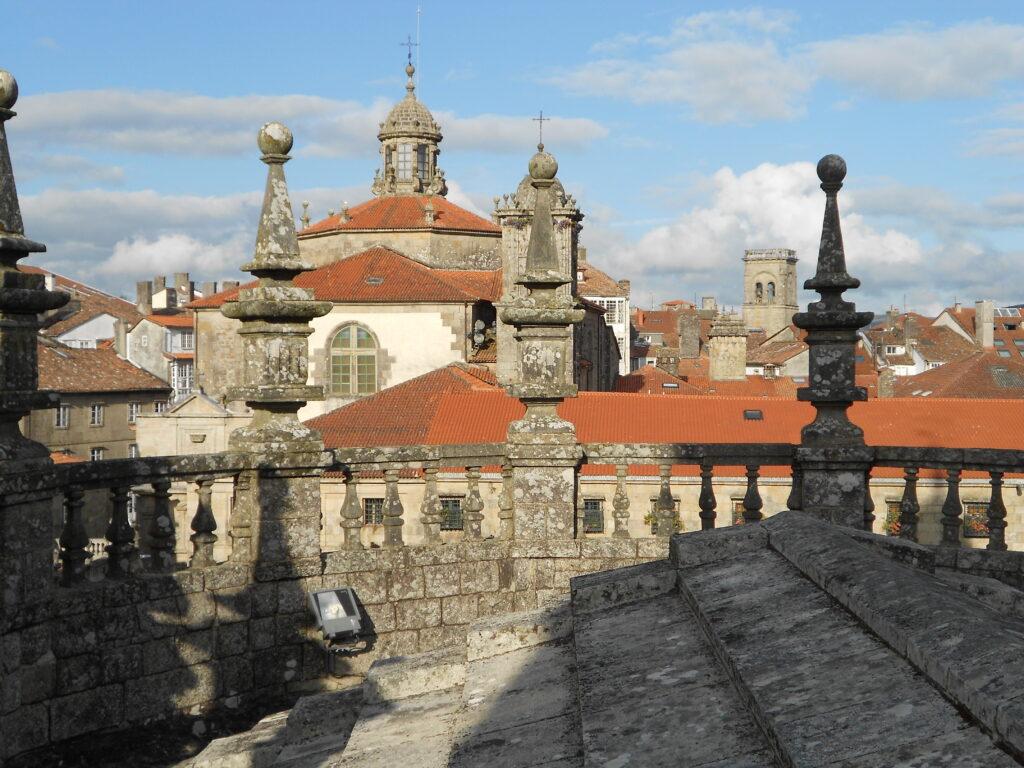 Imagen de los tejados de la catedral